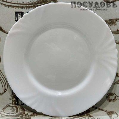 """Десертная тарелка Luminarc """"Cadix"""" цвет белый, Ø195 мм, упрочненное стекло, без упаковки 1 шт"""