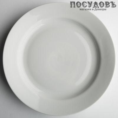 Дулёвский фарфор Белый 24702 тарелка десертная фарфор  мл, 1 шт.