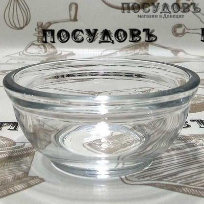 """Салатник Pasabahce """"Gastro Boutique"""" цвет прозрачный, 140 мл, Ø100 мм, стекло, без упаковки 1 шт"""